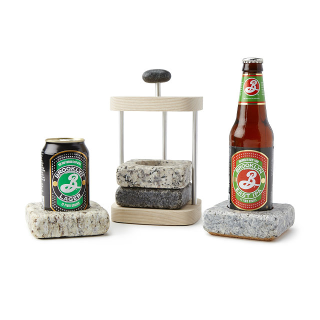 Beer cooling coasters