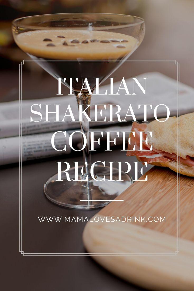Italian shakerato coffee recipe