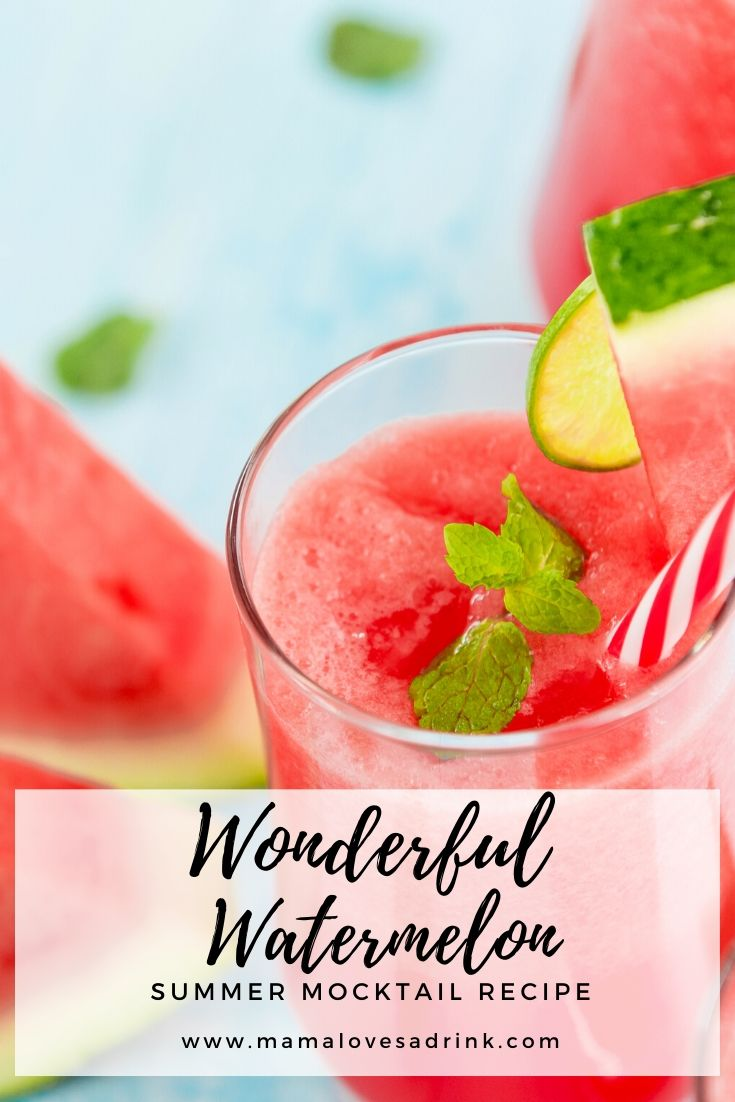 Wonderful Watermelon Mocktail recipe