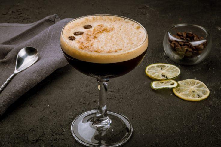 Glass of Espresso martini
