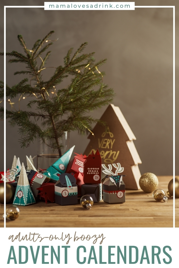Adult Only Boozy Advent Calendars
