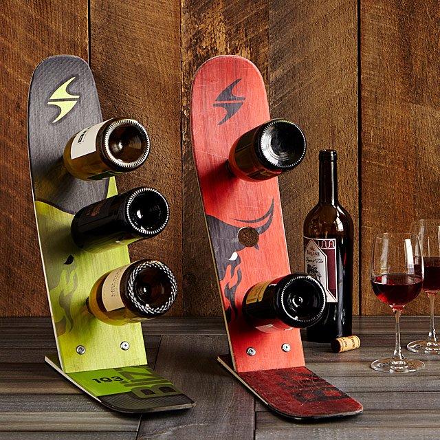 Snowbaord wine rack