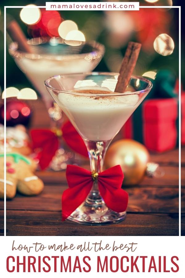 Eggnog non alcoholic drinks for christmas