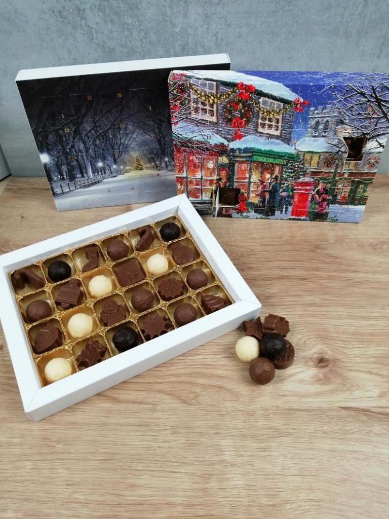 Bozy truffles advent calendar