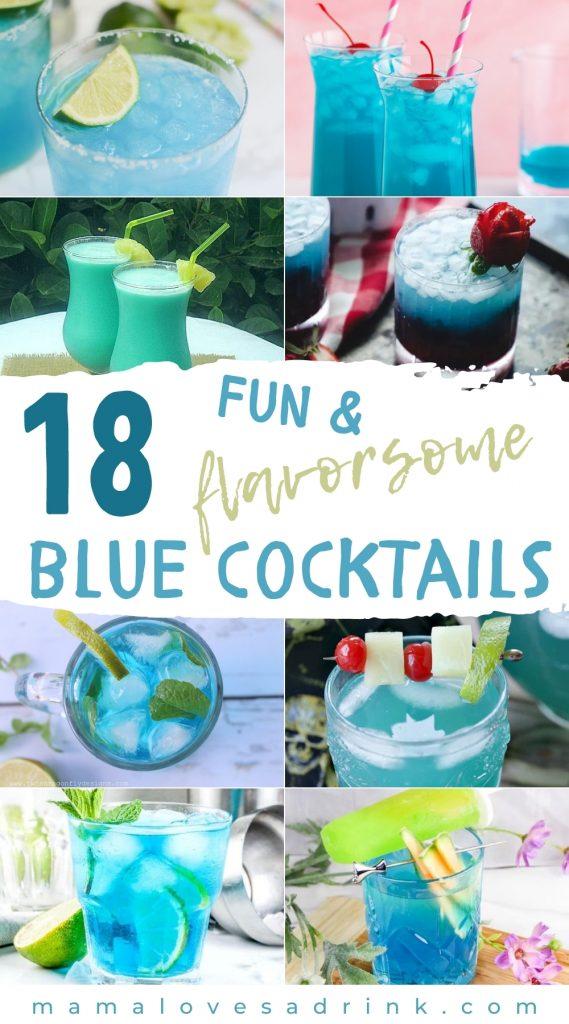 18 Fun & Flavoursome blue cocktails