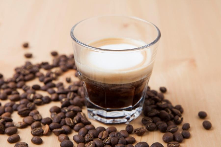 a macchiato espresso drink